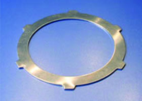 HK Metalcraft manufactures custom notched washers and custom gaskets.