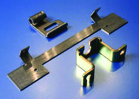 HK Metalcraft's engineers work with customers to design and manufacture custom metal brackets.