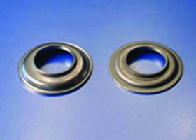 HK Metalcraft produces custom stamped eyelets.