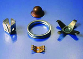 HK Metalcraft supplies notched washers, custom metal stampings, eyelets, and brackets.