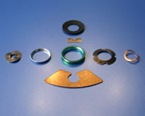 HK Metalcraft works with you to manufacture gaskets, levers, wave spring washers, and brackets.
