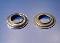 HK Metalcraft's engineers deliver custom stamped eyelets.