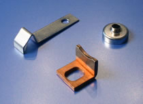 HK Metalcraft produces metal brackets, bevel washers, and seal rings.