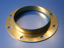 HK Metalcraft's engineers manufacture brackets and bonnet washers.
